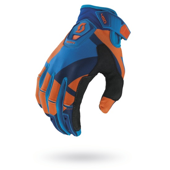 Cross Gloves Scott 450 Cubic Orange Blue