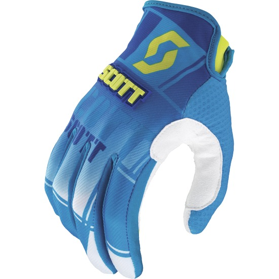 Gloves cross baby Scott 350 Squadron Blue Green Kids