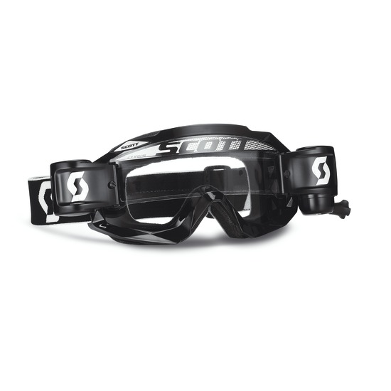 Scott Hustle MX Goggles cross WFS Black