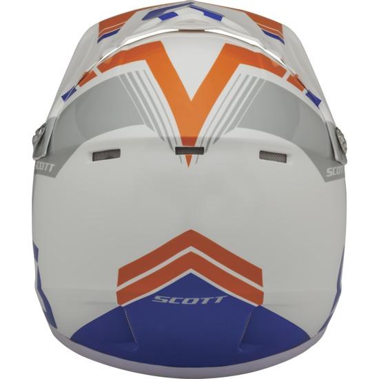 Cross helmet child Scott Photon ECE 250 Kids White Blue