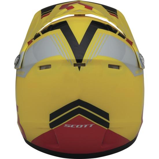 Cross helmet child Scott Photon ECE 250 Kids Yellow Red