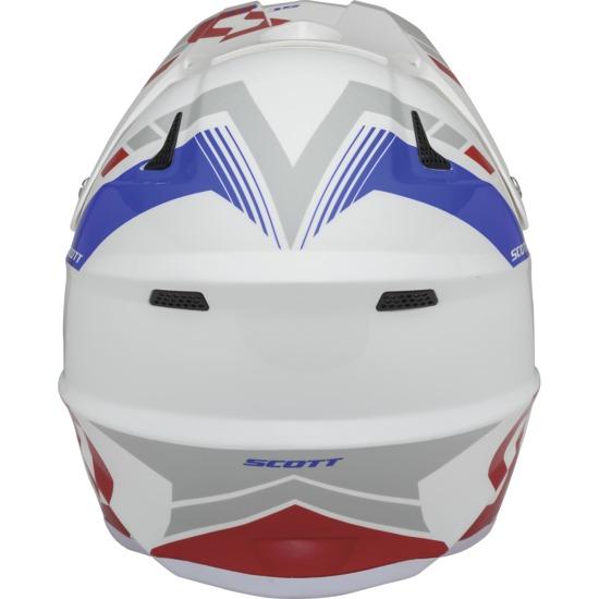 Cross helmet Scott 350Pro Photon Red White