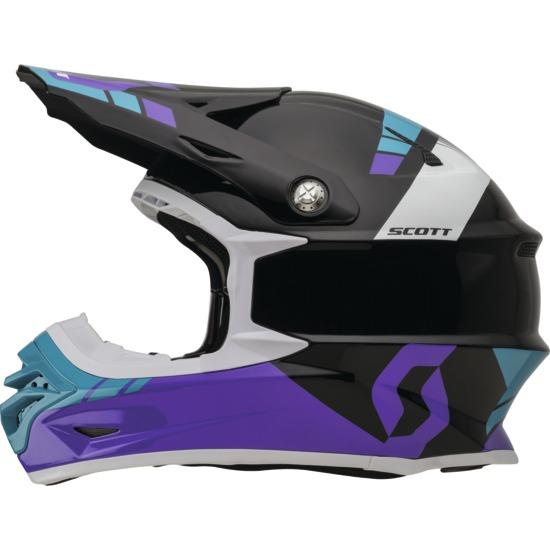 Cross helmet Scott 350Pro Photon Purple Black
