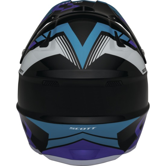 Cross helmet Scott 350Pro Photon Purple Black