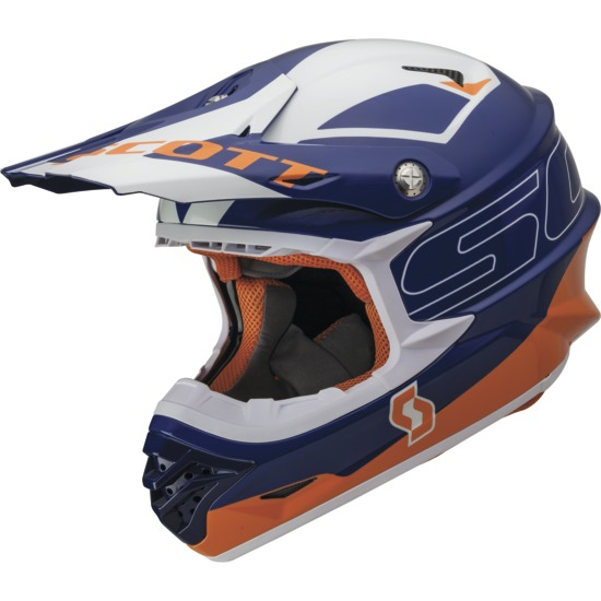 Cross helmet Stratum Pro 350 Scott Blue Orange