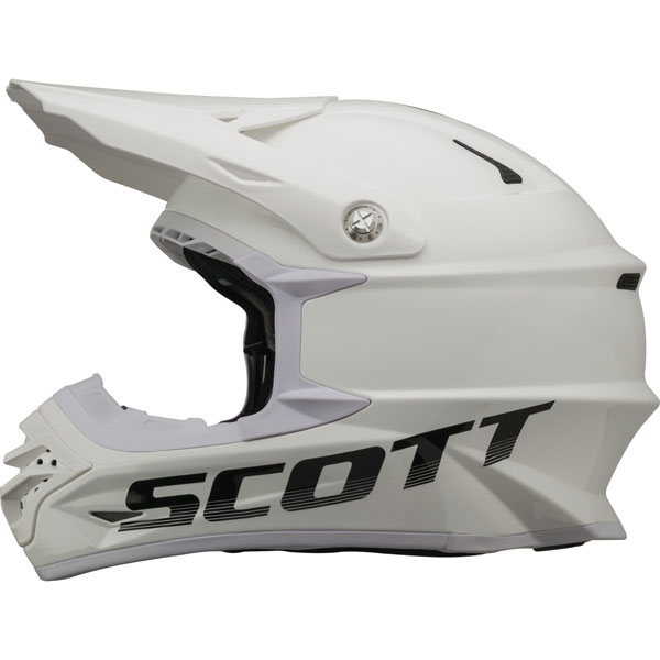 Casco cross Scott 350 Pro Bianco Nero