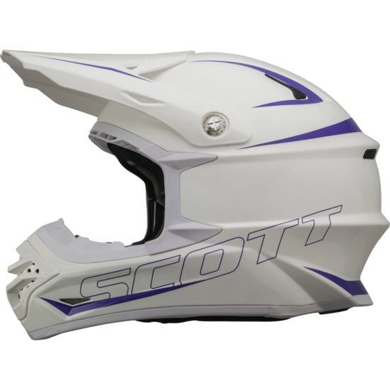 Cross helmet Scott Pro 350 White Purple