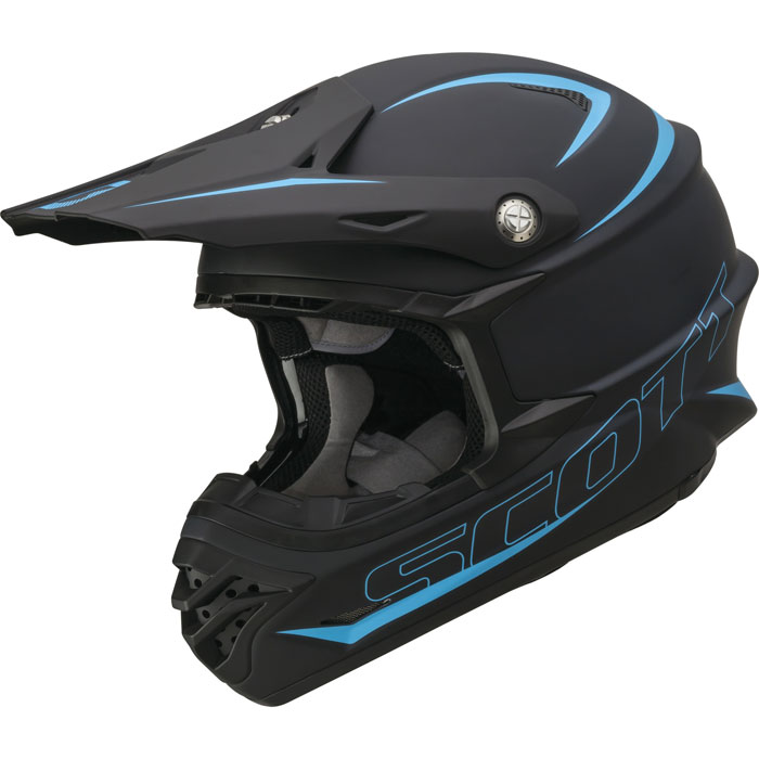 Casco cross Scott 350 Pro Nero opaco