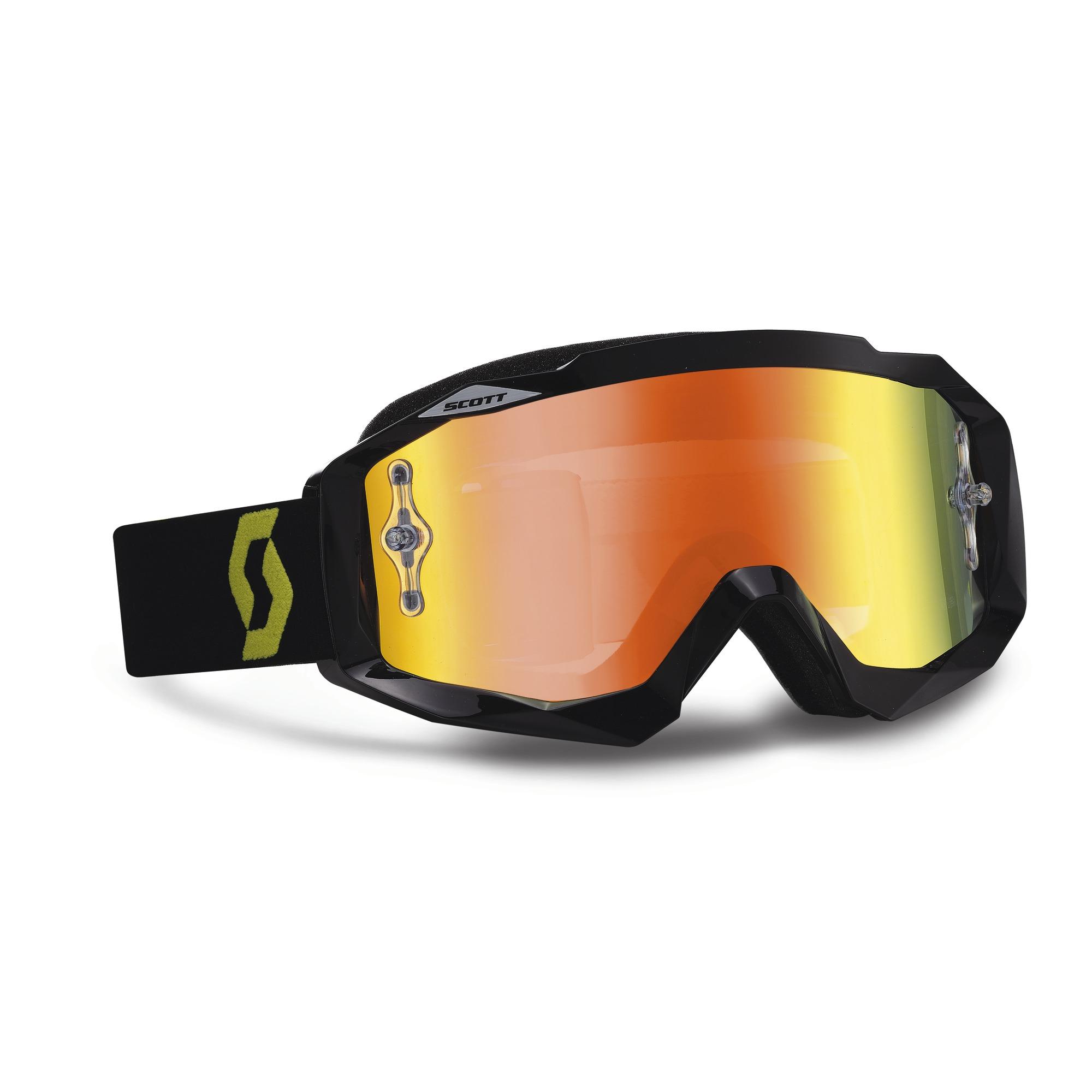 Scott Oxide Hustle MX cross goggles Black Green