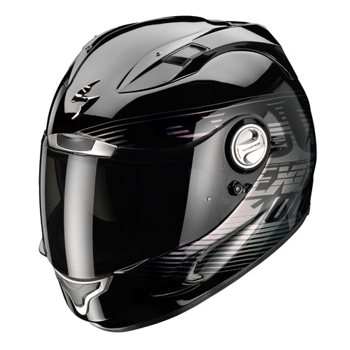 Casco integrale Scorpion Exo 1000 Air Phantom Nero Camaleonte