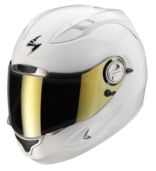 Casco integrale Scorpion EXO 1000 Solid Bianco Lucido