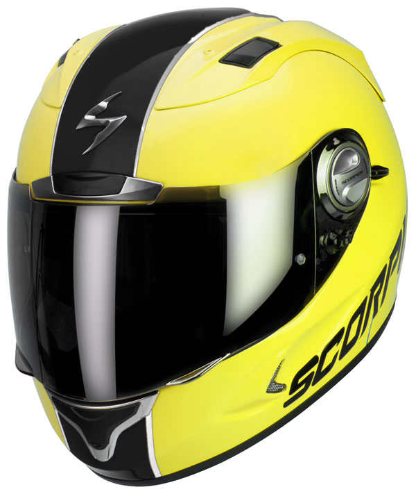 Full face helmet Scorpion Exo 1000 Splitter Fluo Yellow Black