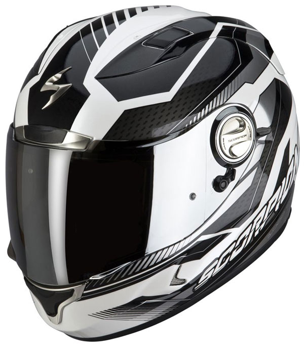 Full face helmet Scorpion EXO 1000 E11 Airline White Black