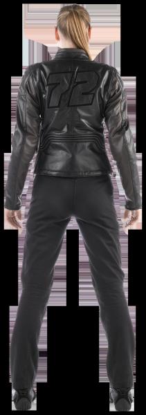 Dainese ARWEN PELLE LADY woman jacket Black-Brown