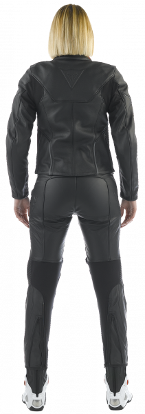 Dainese CAGE PELLE LADY woman leather jacket Black