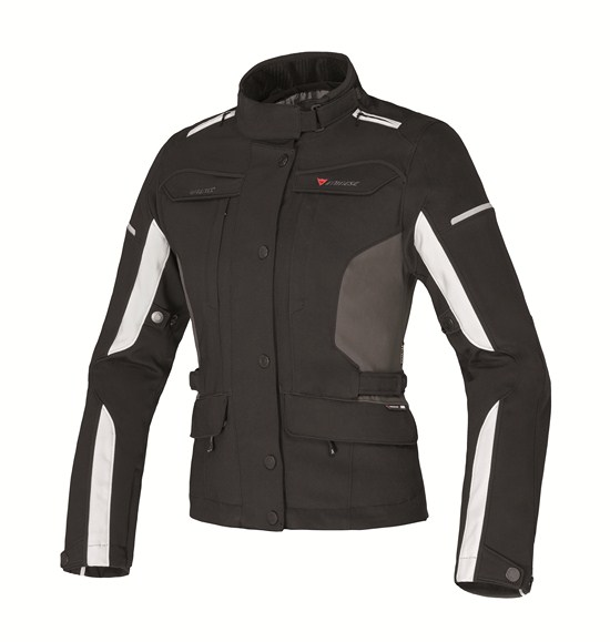 Dainese Zima Gore-Tex Lady jacket black-dawn blue