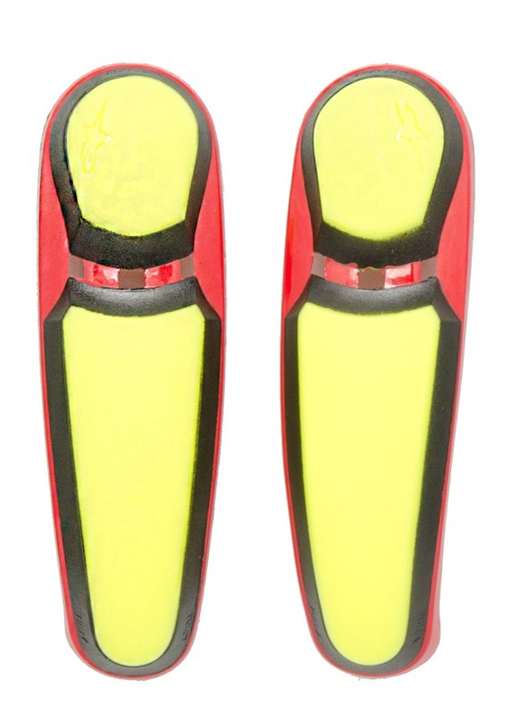 Alpinestars Toe slider for SMX PLUS boots yellow-red