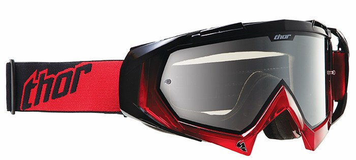 Cross Thor Hero goggles red black