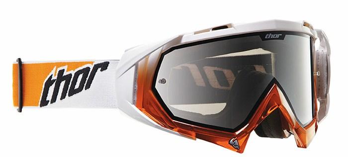 Cross Thor Hero goggles white-orange
