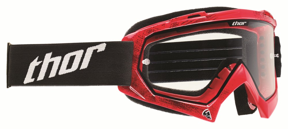 Thor Youth Enemy Goggles Tread red