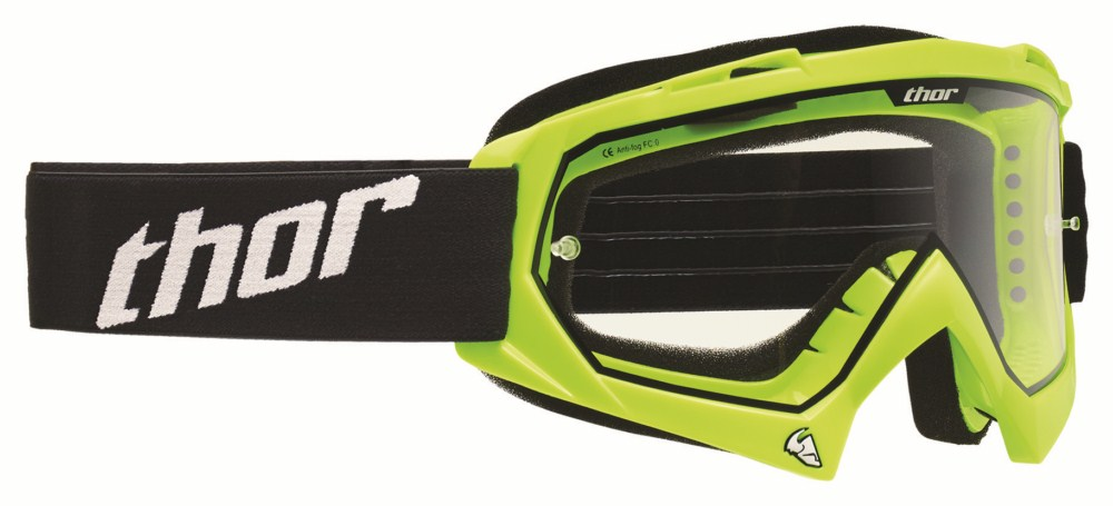 Thor Youth Enemy Goggles Flo Green