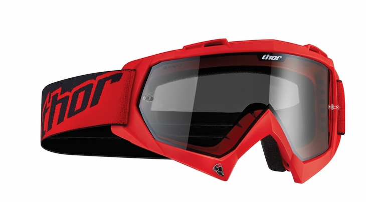 Thor Enemy Sand goggles red
