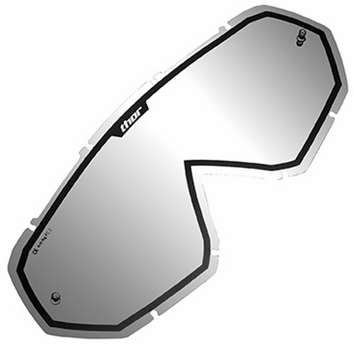 Replacement lens for Thor Hero Goggle mirros black