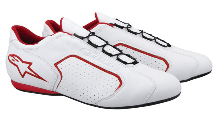 Montreal Red White Shoes Alpinestars
