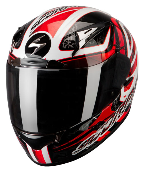 Scorpion Exo 2000 Air Shifter full face helmet Black Red