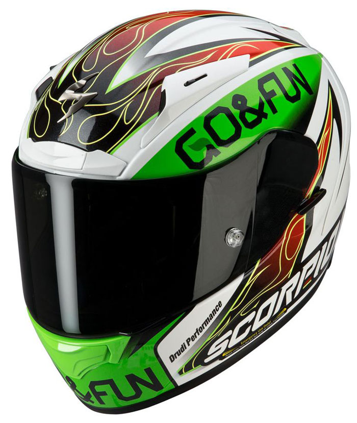 Casco integrale Scorpion EXO 2000 Replica Bautista