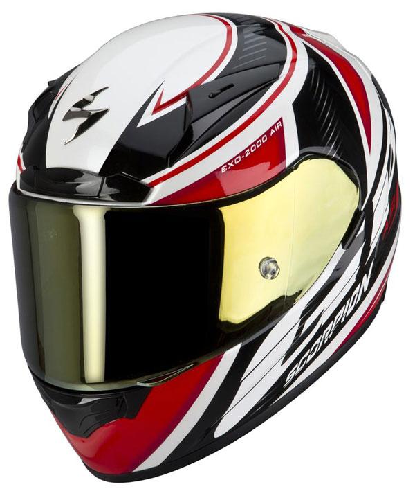 Full face helmet Scorpion EXO 2000 GP Air Black Red White