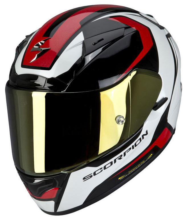 Full face helmet Scorpion EXO 2000 Mart Black Red White