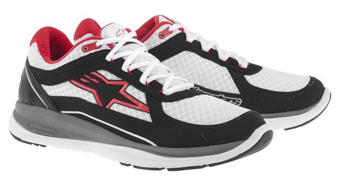Alpinestars 100 Running Shoes White Black Red