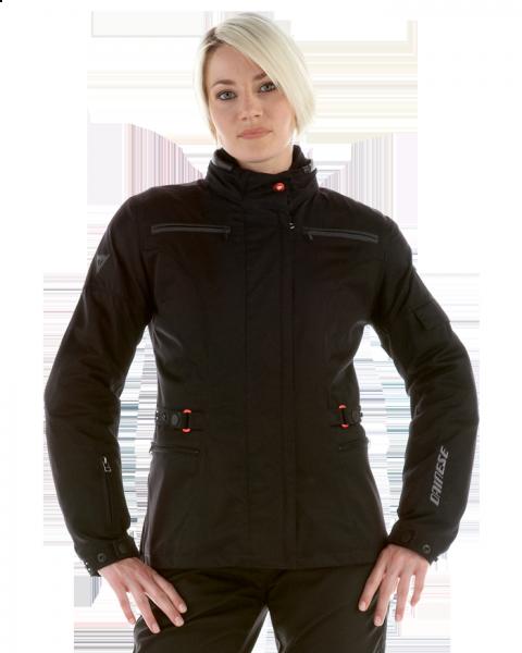Dainese New Luska D-Dry Lady motorcycle jacket black