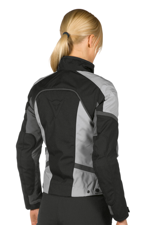 Giacca moto Dainese Xantum D-Dry Lady nero-grigio-high rise