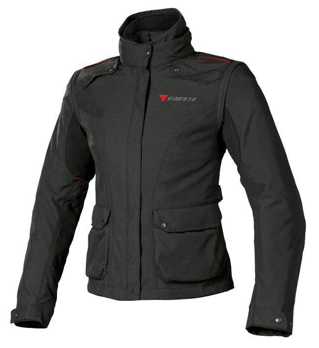 Dainese EVO SYSTEM D DRY LADY motorcycle jacket black