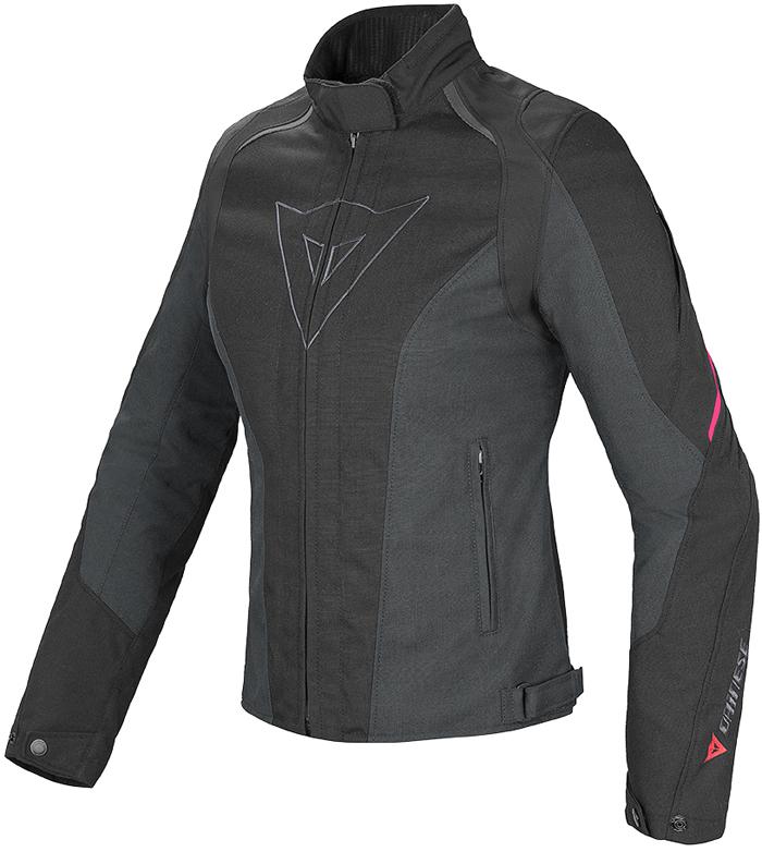 Dainese Laguna Seca D-Dry woman jacket Black Fuxia