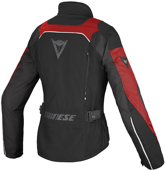Dainese Tempest D-Dry woman jacket Black Red