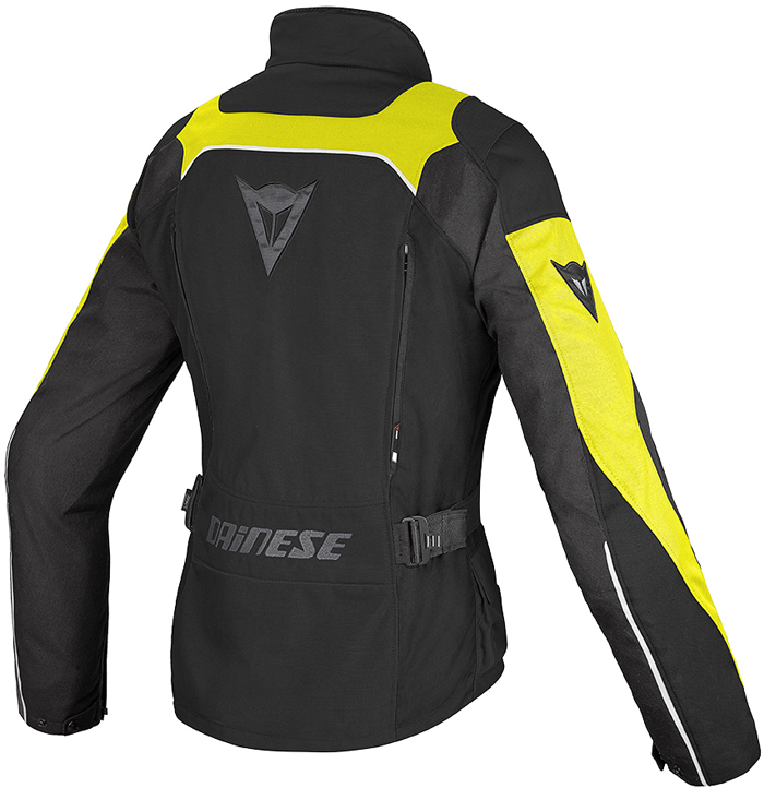 Giacca moto donna Dainese Tempest D-Dry Nero Giallo