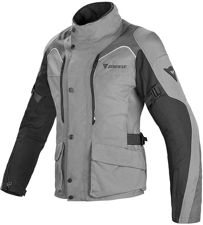 Dainese Tempest D-Dry N woman jacket Black Dark Castle rock gull