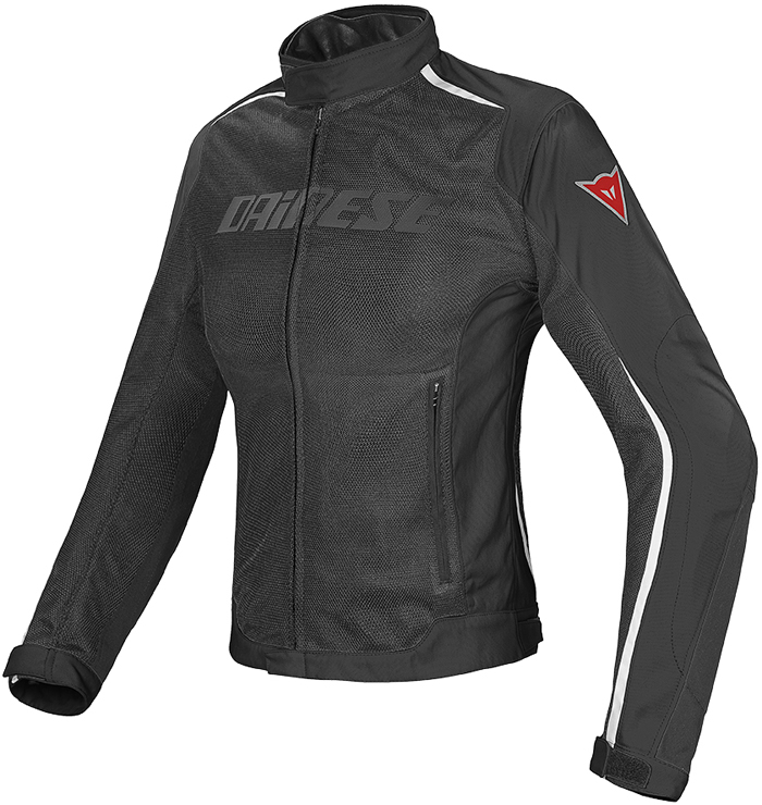 Dainese Hydra Flux D-Dry woman jacket Black White