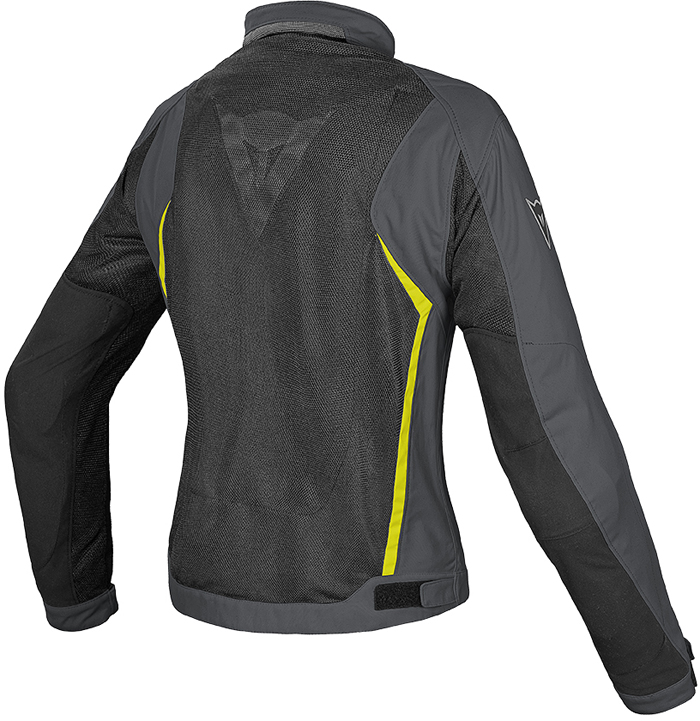 Dainese Hydra Flux D-Dry woman jacket Black Dark Gull Yellow