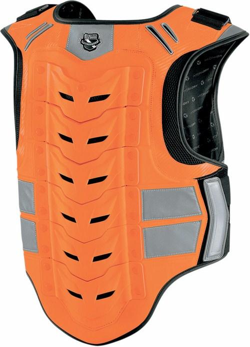 Harness Icon Stryker Mil-Spec Vest Orange fluo