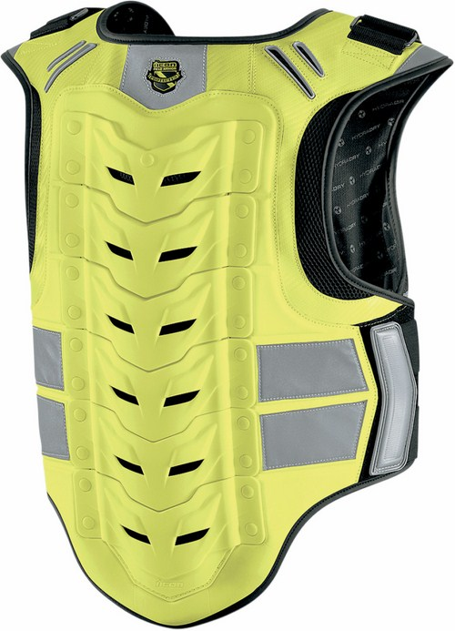 Harness Icon Stryker Mil-Spec Vest Neon Yellow