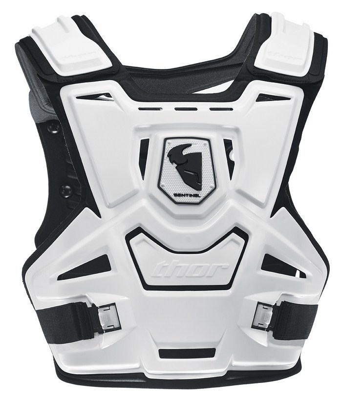 Thor Sentinel chest protection white