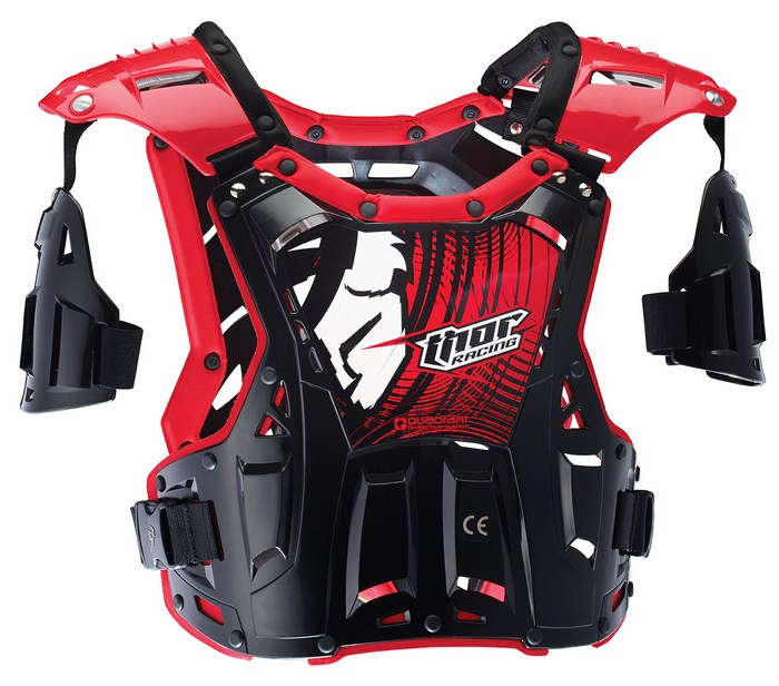 Thor Quadrant roost guard black-red