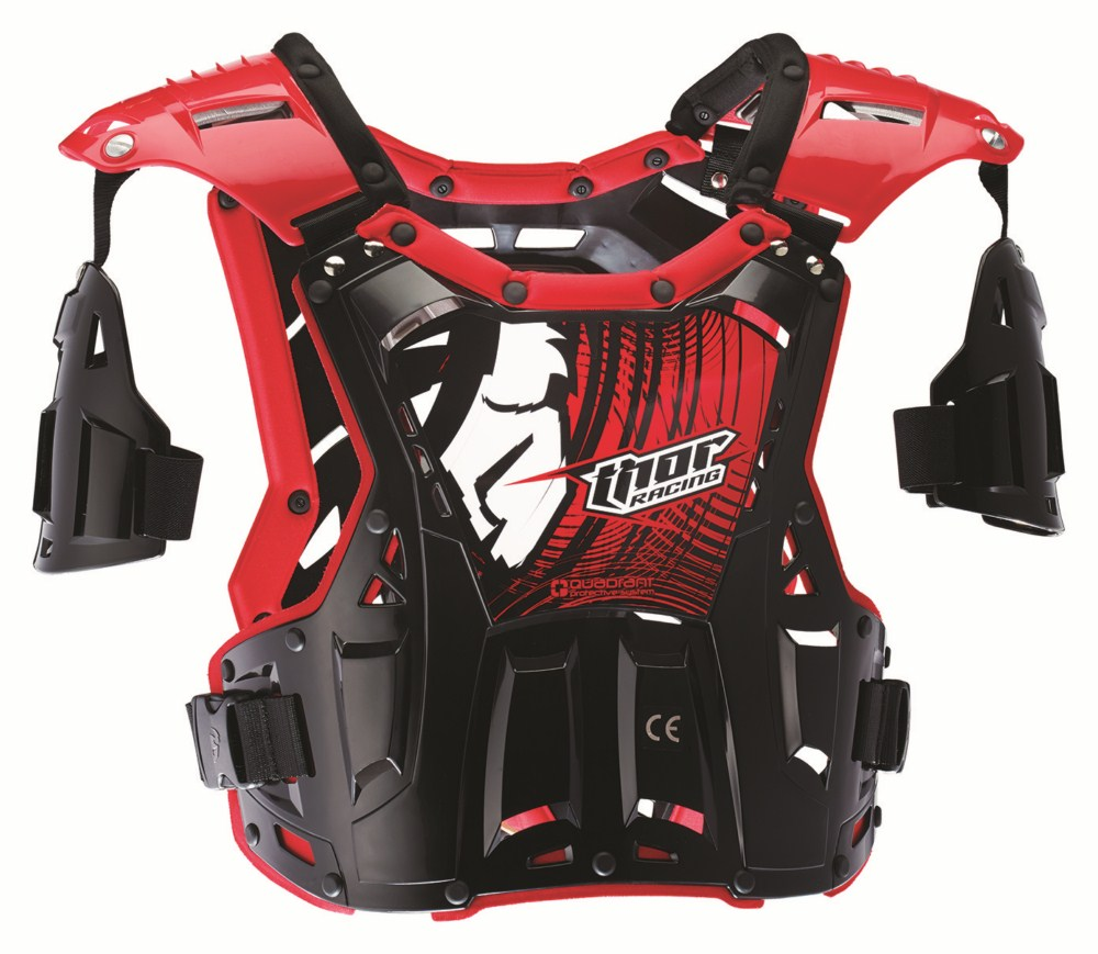 Thor Youth Quadrant Roost Guard black red