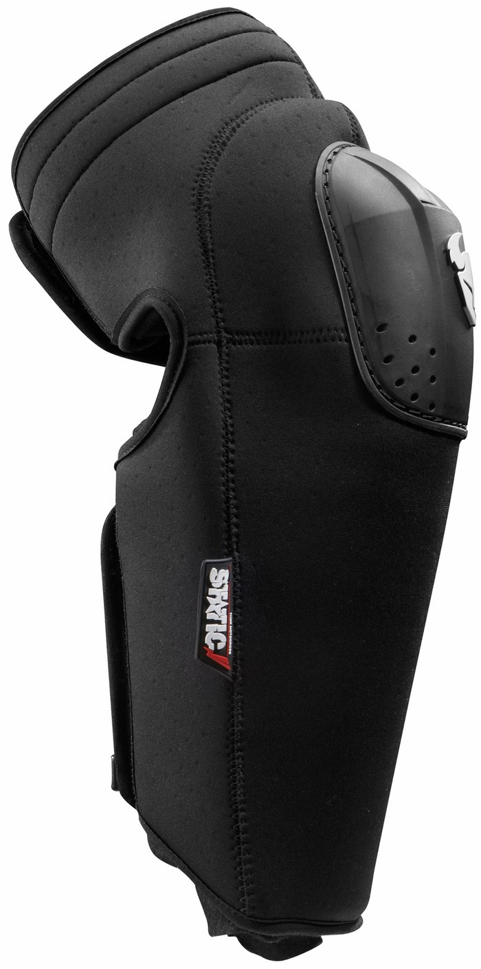 Coppia ginocchiere cross Thor Static Knee nere