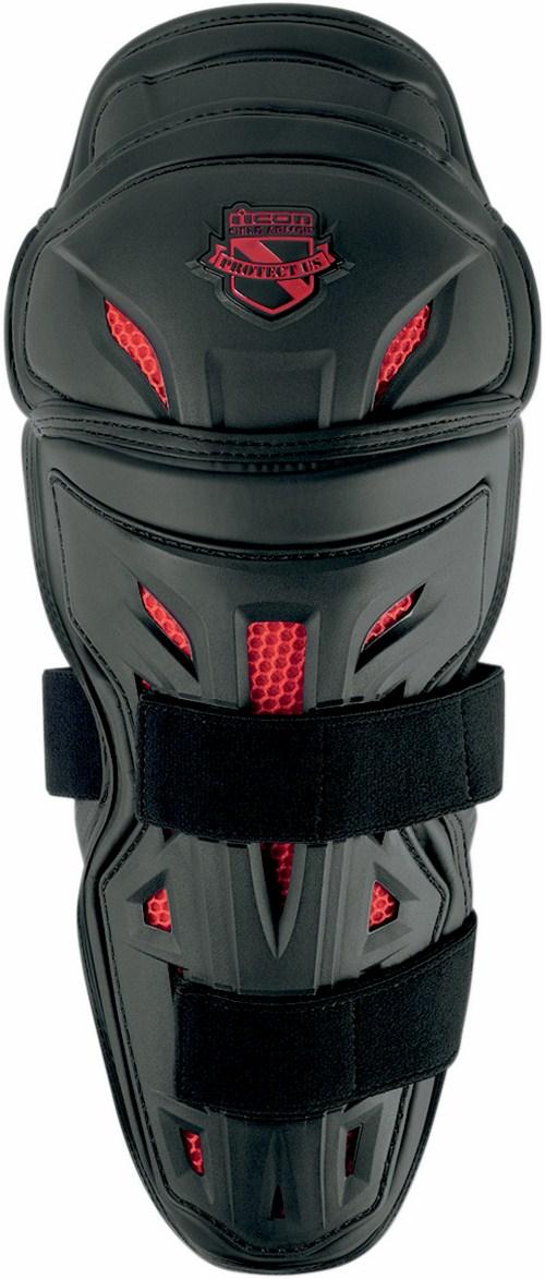 Icon Stryker Knee Black