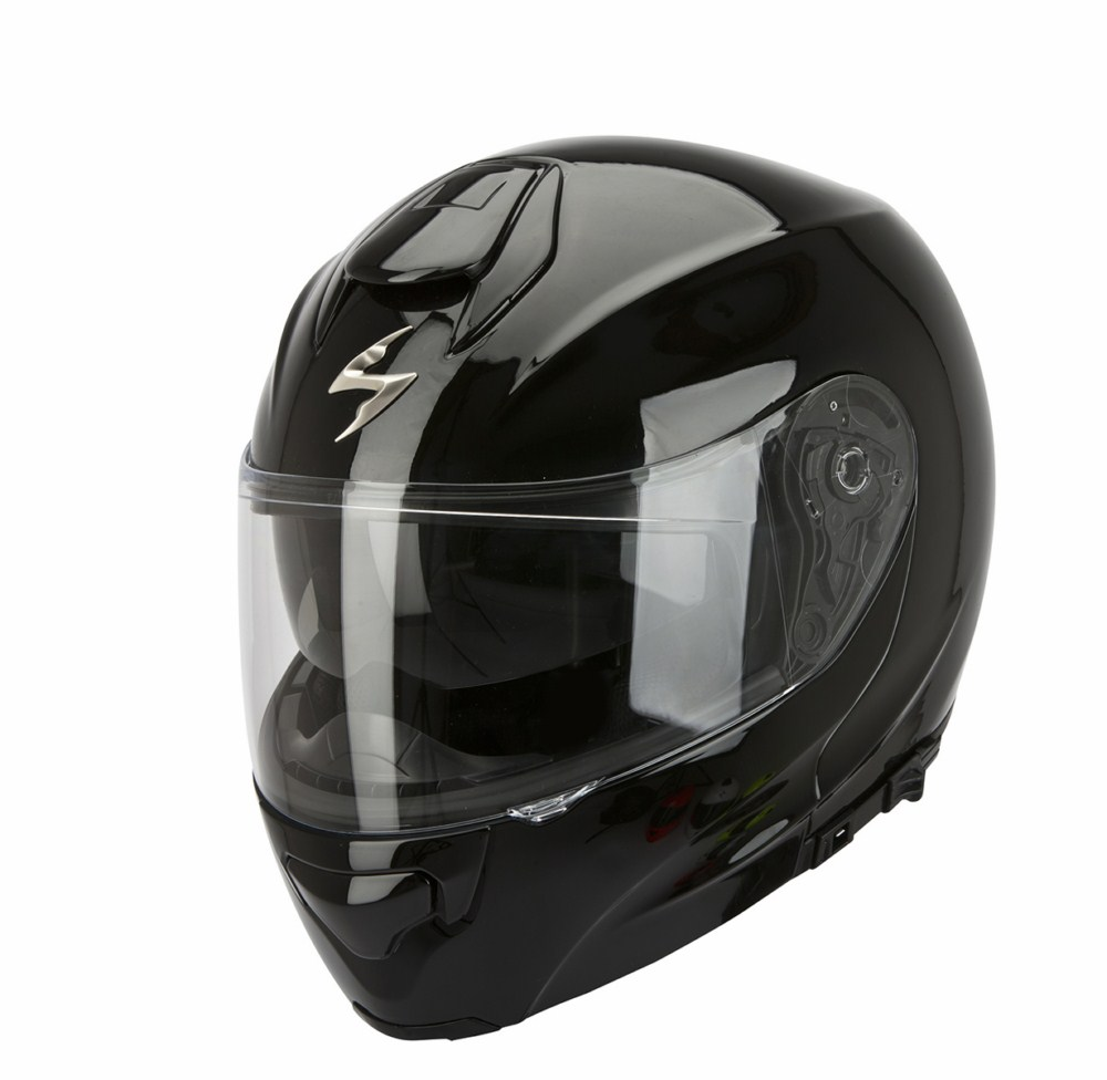 Casco modulare Scorpion Exo 3000 Air nero lucido